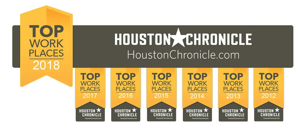 Houston Chronicle Top Work Place 2018